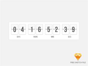 Flip Clock – Search Results – Sketch Repo