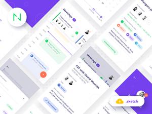 e-Commerce UI Kit Sketch & Flinto Freebie - Download Sketch