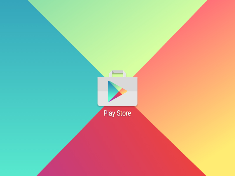 Google Play Store Launcher Icon Freebie - Download Sketch Resource