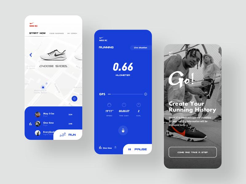 app nike running