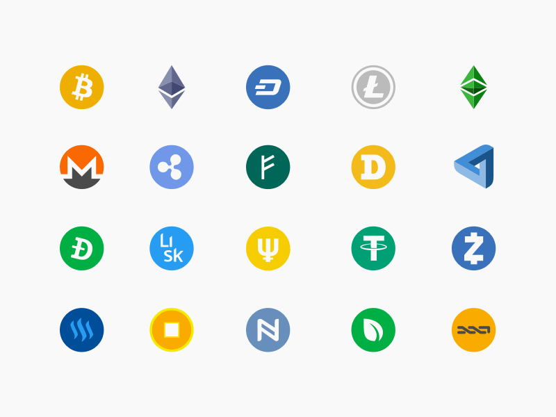cryptocurrency logos software