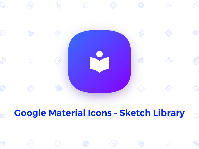 Google Material Icons - Sketch Library Freebie - Download Sketch