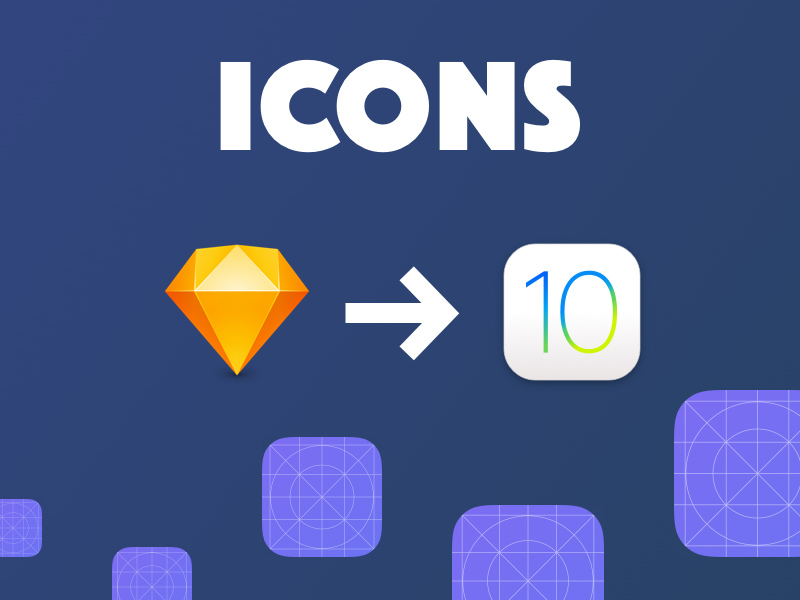 Ios 10 App Icon Template For Sketch Freebie Download Sketch